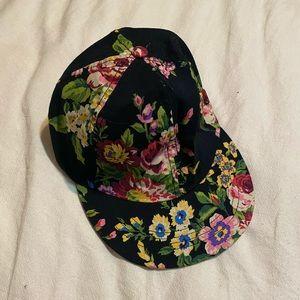 American Apparel Floral Hat